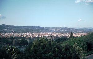 Stadtansicht vom Piazza Michelangelo