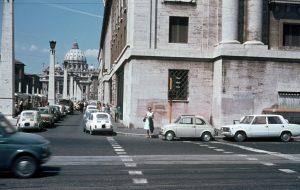 Blick auf den Vatikan