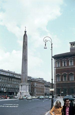 Obelisk im Lateran