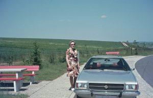 Rastplatz an der Autobahn