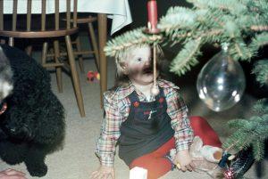 Kind und Pudel