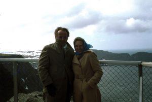 Ehepaar am Nordkapp