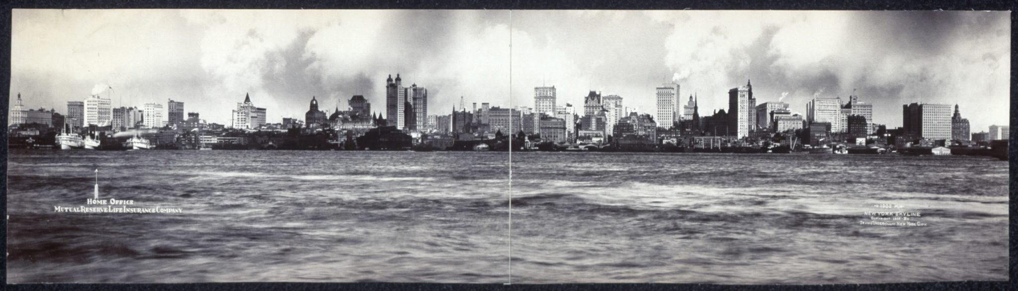 New York Skyline 1902