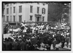 Labor Day Parade, Wagen der Women's Trade Union League, New York
