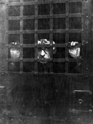 Erstes Foto von Leon F. Czolgosz, der Attentäter des amerikanischen Präsidenten William McKinley