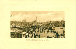 Constantinople – Le Pont de Galata, Galatabrücke