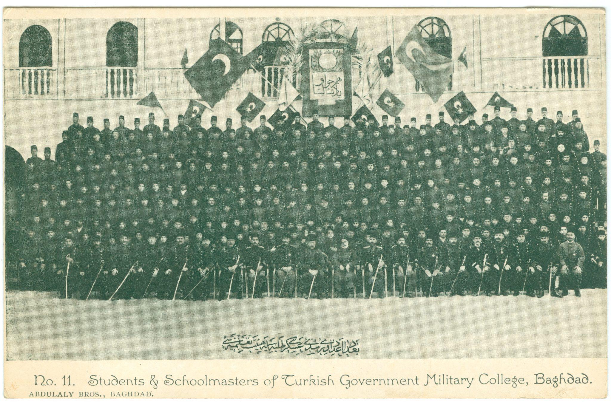Bagdad, Studenten & Schulleiter der türkischen Militärschule