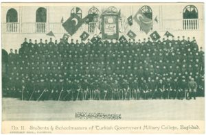 Baghdad, Students & Schoolmasters of Turkish Government Military College