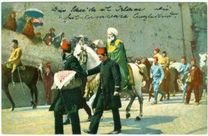Le Cheik ul Islam occompagnani la Caravane Saoree