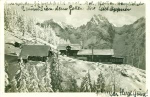 Kaisergebirge, Unterkuntshütte Vorderkaiserfelden