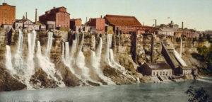 Industrieanlagen entlang des Niagara River