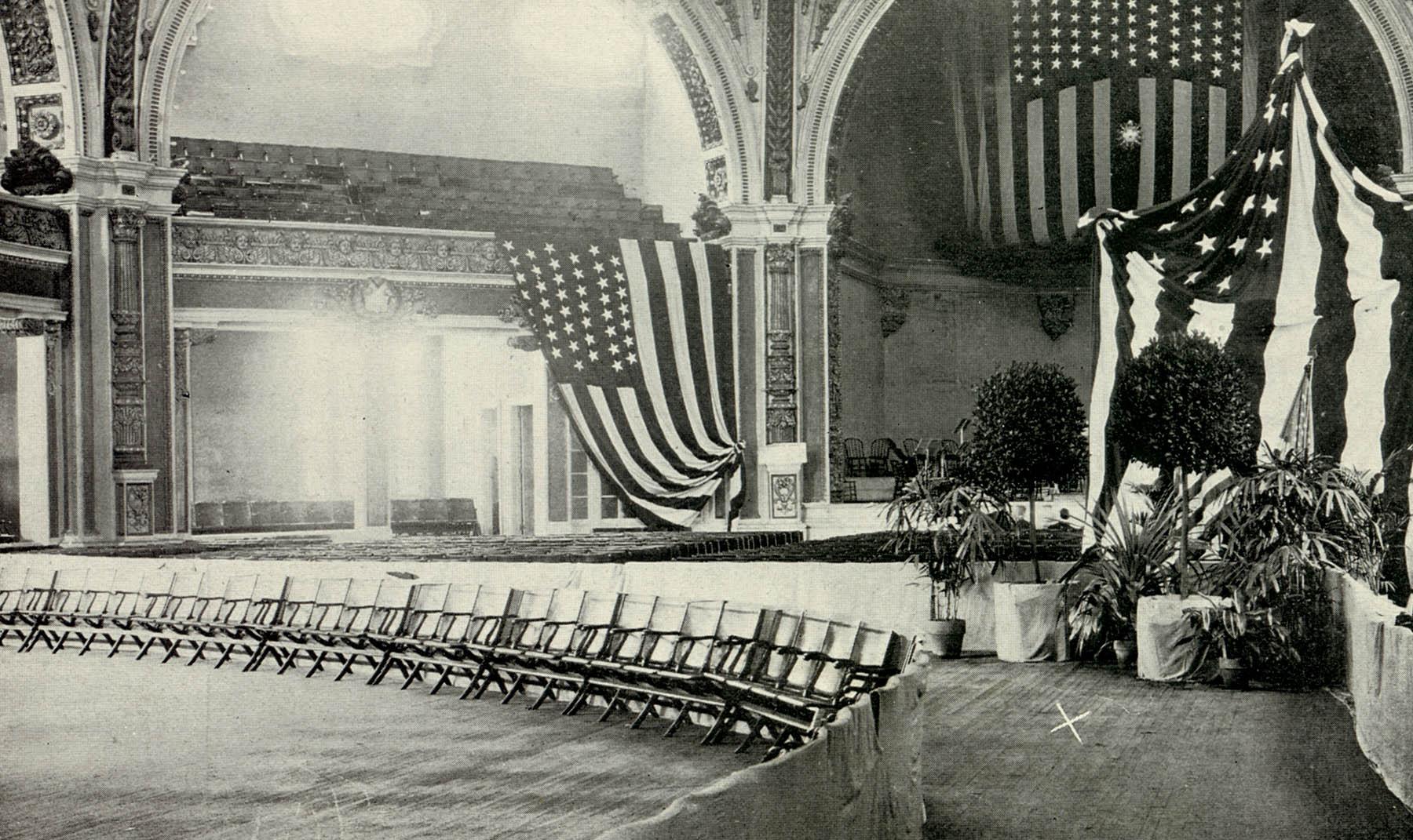 Tempel der Musik, Pan-American Exposition, der Weltausstellung in Buffalo, New York